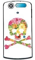 Flower skull 2 (クリア) design by ROTM/for MEDIAS PP N-01D/docomo【SECOND SKIN】