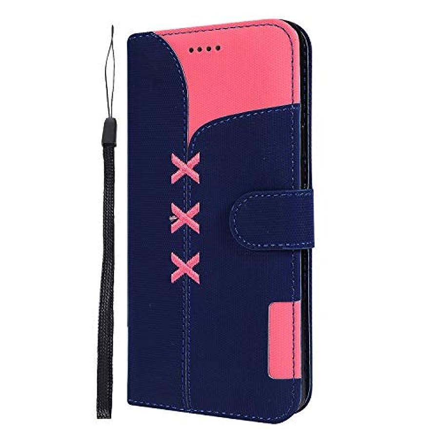 予約端末真実Lomogo Galaxy S9+ / docomo SC-03K / au SCV39 ケース 手帳型 耐衝撃 レザーケース 財布型 カードポケット スタンド機能 マグネット式 ギャラクシーS9プラス 手帳型ケース カバー 人気 - LOGHU040238 青