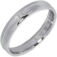 [エルメス]HERMES K18WG アンプラントリング 指輪 #48(8号) 中古