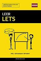 Leer Lets - Snel / Gemakkelijk / Efficiënt: 2000 Belangrijkste Woorden