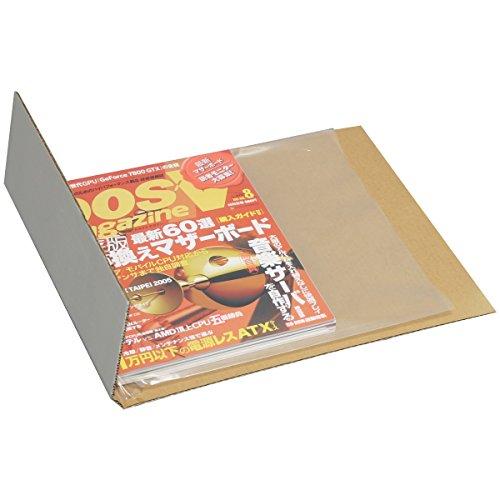 アースダンボール B5~ メルチャMダンボール 10箱 (内寸300×200×5~50mm) 0040