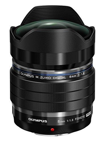 OLYMPUS マイクロフォーサーズ用フィッシュアイレンズ M.ZUIKO DIGITAL ED 8mm F1.8 Fisheye PRO EF-M0818PROBLK