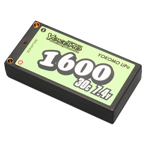 ヨコモ YOKOMO Lipo 1600mAh/7.4V バッテリー