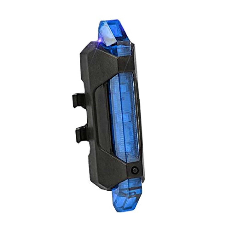 1stモール 自転車 リアライト セーフティライト セーフティーライト LEDライト テールライト 点灯 点滅 高輝度 15ルーメン (ブルー) ST-AQY-093-BL