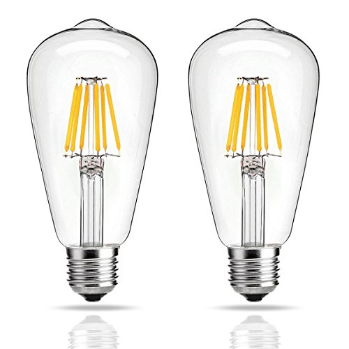 LED電球 E26/E27口金 6W(60W相当) ヴィンテ...