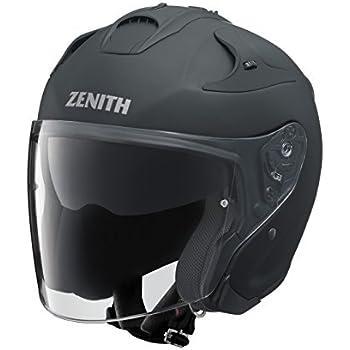 ヤマハ(YAMAHA) バイクヘルメット ジェット YJ-17 ZENITH-P ラバートーンブラック 90791-2321M M (頭囲 57cm~58cm)