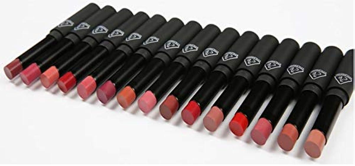 毛細血管子猫予見する3CEスリムベルベットリップカラー Slim Velvet Lip Color (# PALE RED) [並行輸入品]