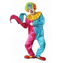 ピエロ衣装 セット コスプレ衣装 コスチューム Cosplay Costume ハロウィン パーティー カーニバル クリスマス 宴会 二次会 余興 新年会 忘年会 歓迎会 送迎会 仮装舞踏 ダンスに COSSKY