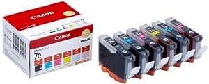 Canon 純正 インクカートリッジ BCI-7e(BK/M/C/Y/PM/PC) 6色マルチパック BCI-7E/6MP