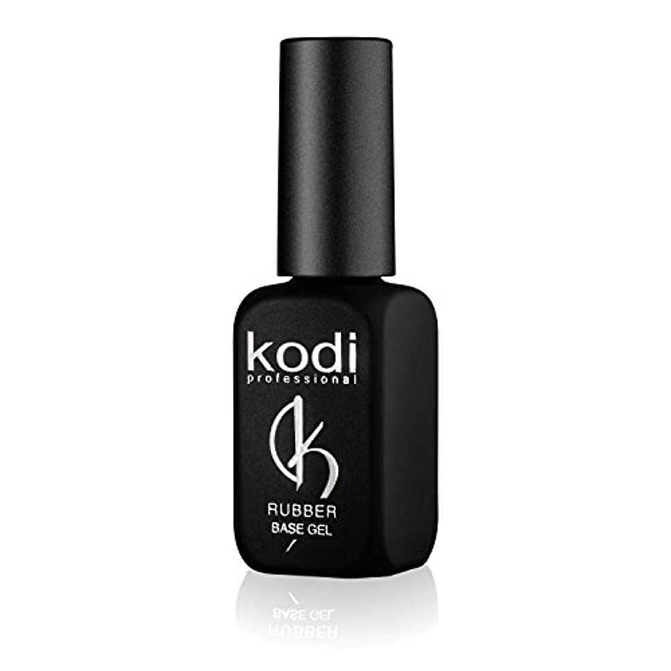 一見協定明示的にProfessional Rubber Base Gel By Kodi | 12ml 0.42 oz | Soak Off, Polish Fingernails Coat Gel | For Long Lasting...