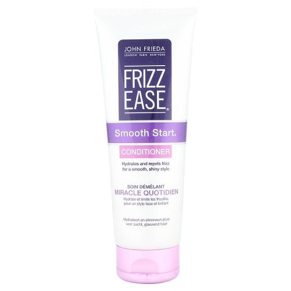 メロドラマ視線退却John Frieda Frizz-Ease Smooth Start Conditioner 250ml