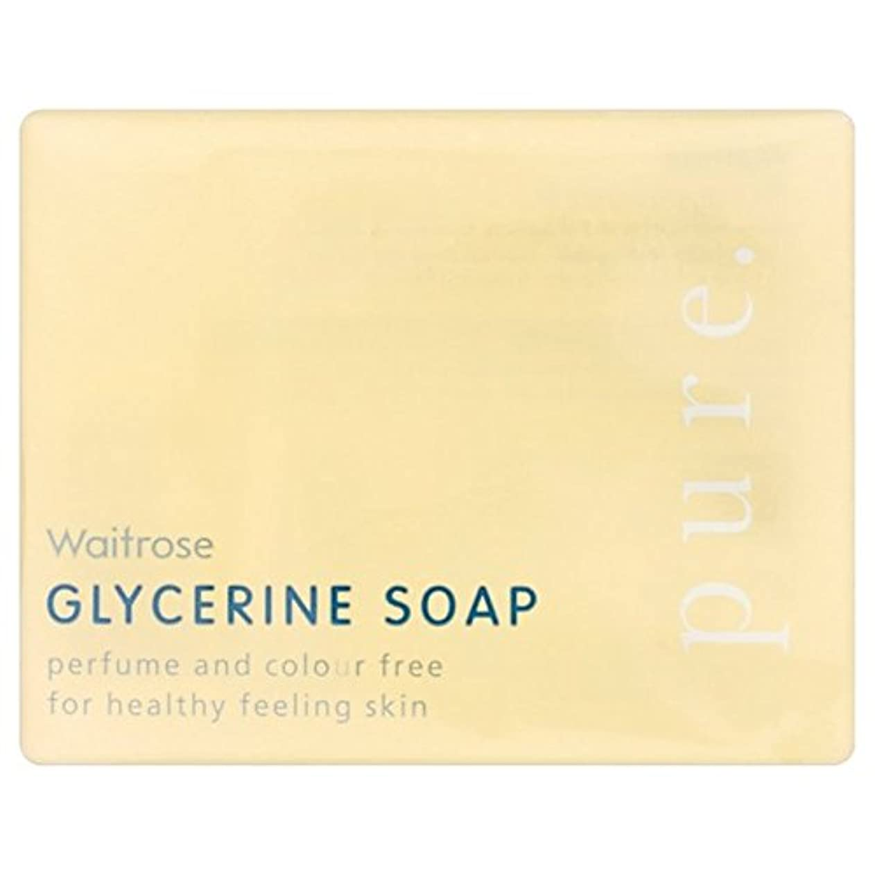 Pure Glycerine Soap Waitrose 100g - 純粋なグリセリンソープウェイトローズの100グラム [並行輸入品]