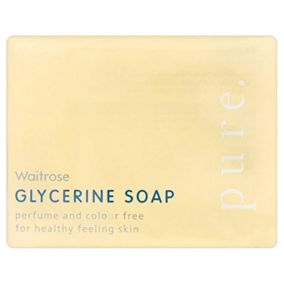バンド獲物ナチュラ純粋なグリセリンソープウェイトローズの100グラム x2 - Pure Glycerine Soap Waitrose 100g (Pack of 2) [並行輸入品]