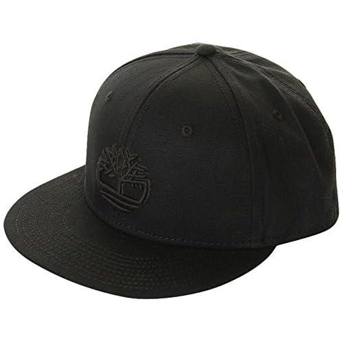 Timberland CAP TH340104 700/WHEATティンバーランド スナップバック キャップ メンズ ウィート 帽子 ティンバー アウトドア (ブラック)