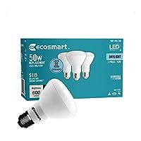 50W相当デイライトbr20調光機能付きLEDライト電球( 3- Pack ) 1001655256