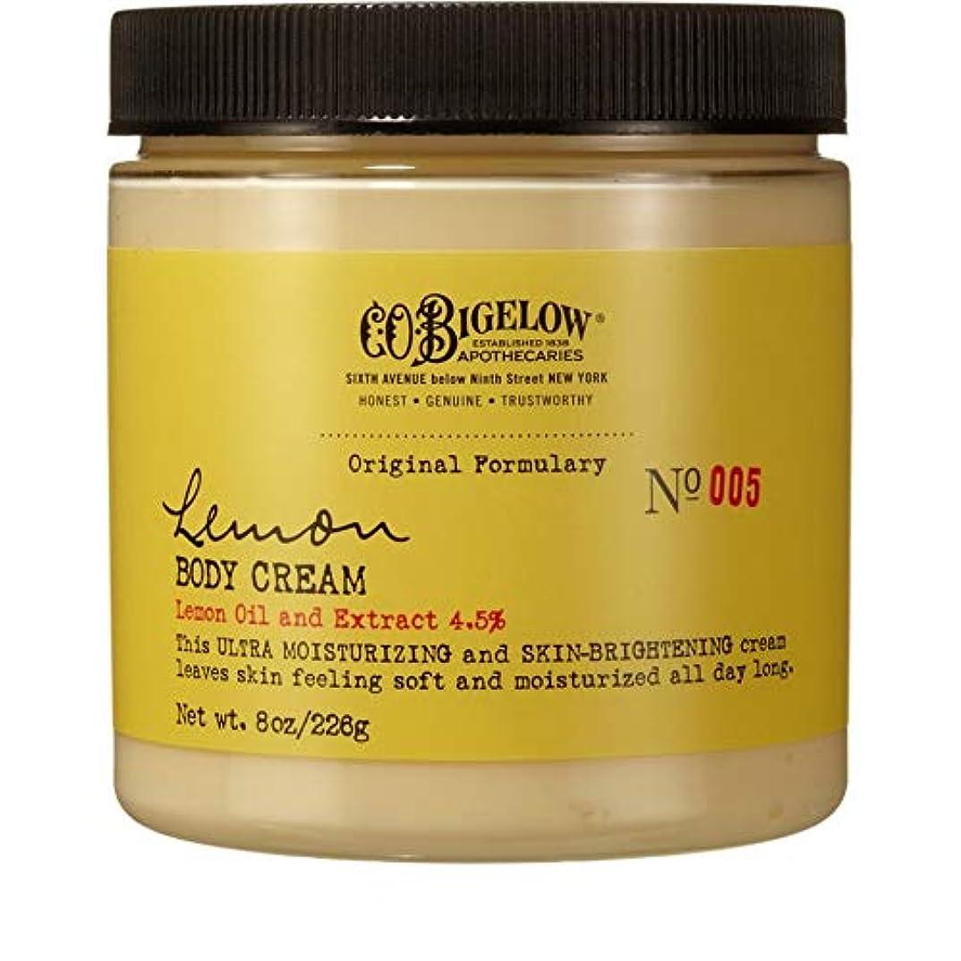 長さ裏切る細心の[C.O. Bigelow] C.O.ビゲローレモンボディクリーム226グラム - C.O. Bigelow Lemon Body Cream 226g [並行輸入品]
