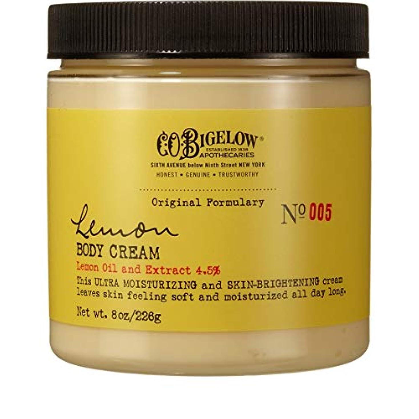 みぞれ同化するミケランジェロ[C.O. Bigelow] C.O.ビゲローレモンボディクリーム226グラム - C.O. Bigelow Lemon Body Cream 226g [並行輸入品]