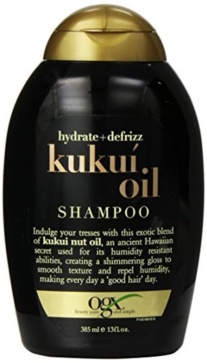 抽出金銭的不名誉なOGX Kukui Oil Shampoo, Hydrate Plus Defrizz, 13 Ounce [並行輸入品]