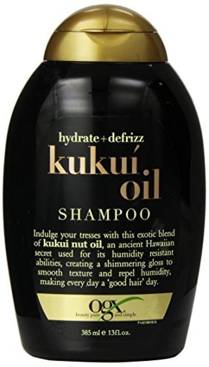 秘密の頑張るリゾートOGX Kukui Oil Shampoo, Hydrate Plus Defrizz, 13 Ounce [並行輸入品]