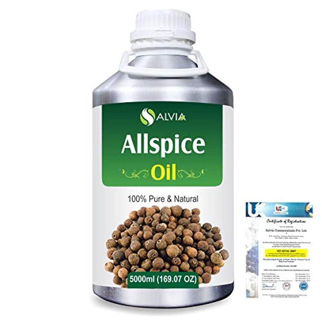 滑りやすいしたがって花輪Allspice (Pimenta officinalis) 100% Natural Pure Essential Oil 5000ml/169fl.oz.