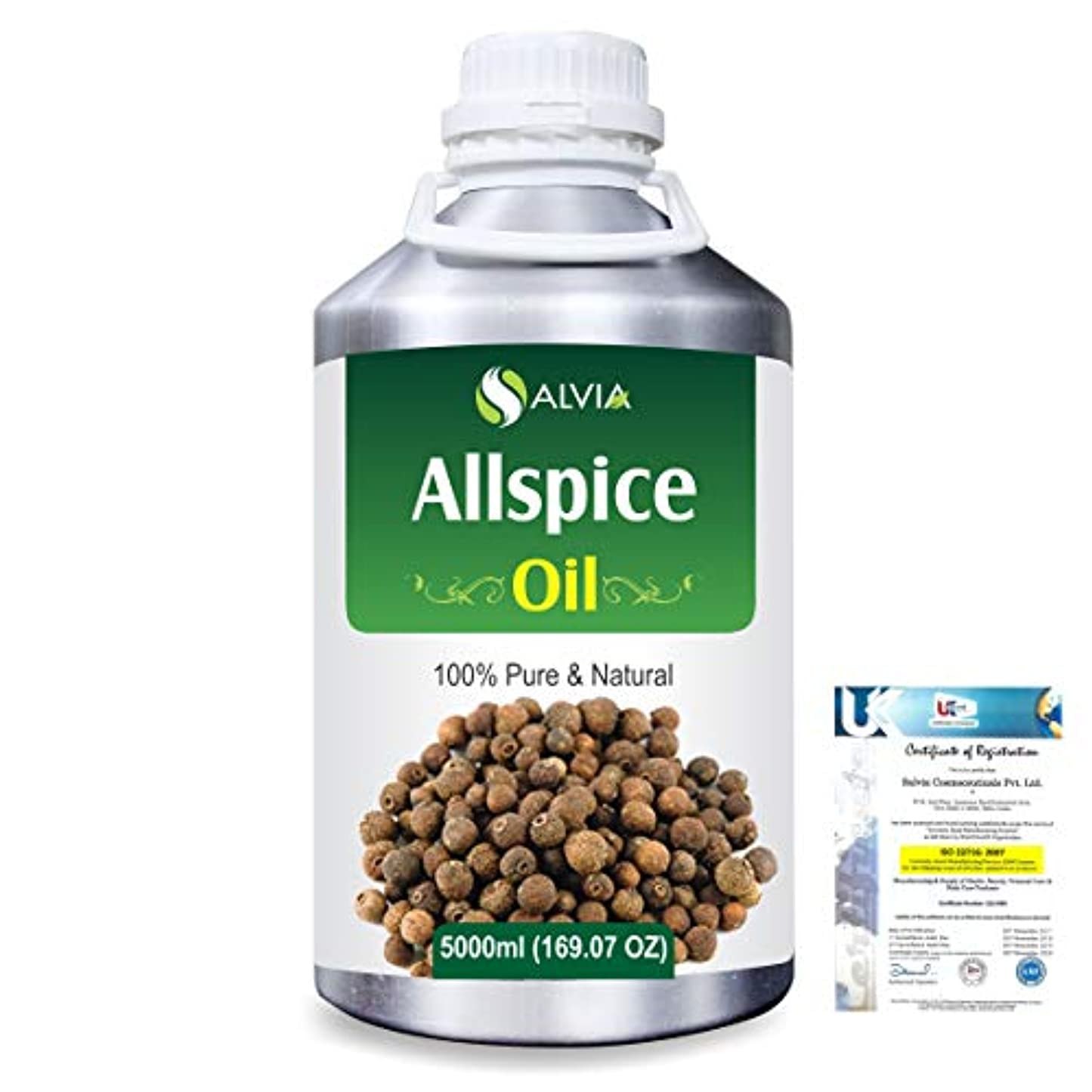 第四ゴシップ嫌いAllspice (Pimenta officinalis) 100% Natural Pure Essential Oil 5000ml/169fl.oz.
