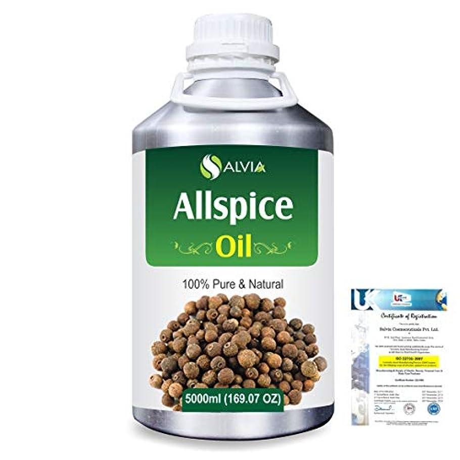 雄弁パシフィックプールAllspice (Pimenta officinalis) 100% Natural Pure Essential Oil 5000ml/169fl.oz.