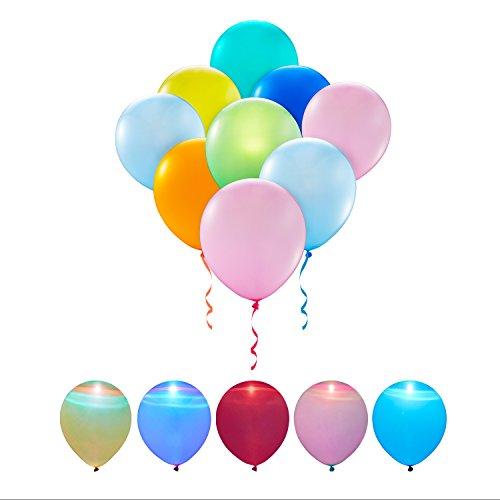[해외]풍선 LED 풍선 50 개 세트 LeHom 여러가지 색상/Balloon LED balloon 50 pieces LeHom Assorted colors