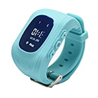 9Tong Children Tracker Watch,Kids GPS Smart Watch Phone with Anti-lost SOS SIM Card Support Smartwatch Parent Control by iOS and Andriod Smartphone [並行輸入品]