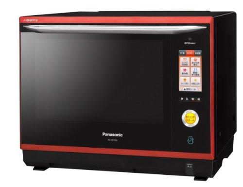 Panasonic スマート×ビストロ×エコナビ スチームオーブンレンジ 30L ルージュブラック NE-BS1000-RK
