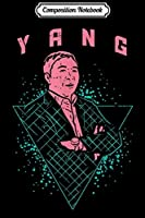 Composition Notebook: Yang Vaporwave Funny Retro Math Andrew For President 2020  Journal/Notebook Blank Lined Ruled 6x9 100 Pages