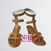 【サイズ選択可】女性25CM B1C00002 コスプレ靴 ブーツ ワンピース ONE PIECE ナミ