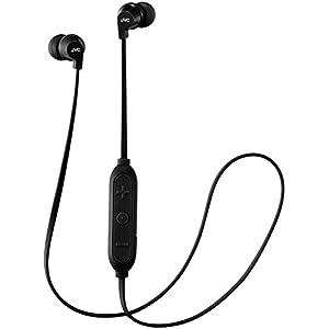 JVC HA-FX27BT ワイヤレスイヤホン Bluetooth対応/リモコン付き/防滴仕様/高音質/小型・軽量設計 ブラック HA-FX27BT-B