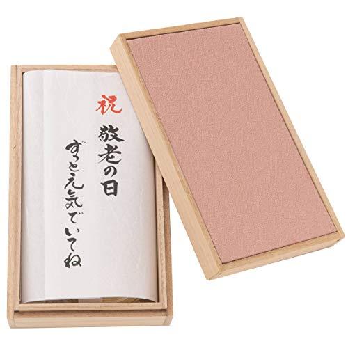 (赤ちゃんまーけっと) 敬老の日 プレゼント ギフト okuru 紅白うどん 浅緋 桐箱入り150g