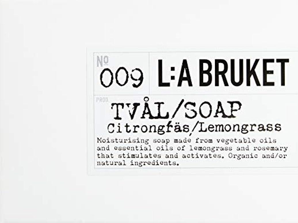 直感代理人そうでなければL:a Bruket (ラ ブルケット) バーソープ (レモングラス) 120g