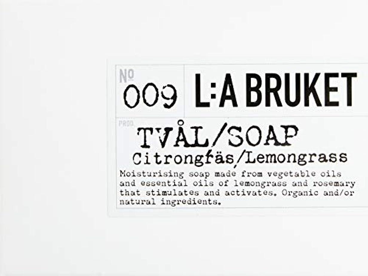 凍った講義悪いL:a Bruket (ラ ブルケット) バーソープ (レモングラス) 120g