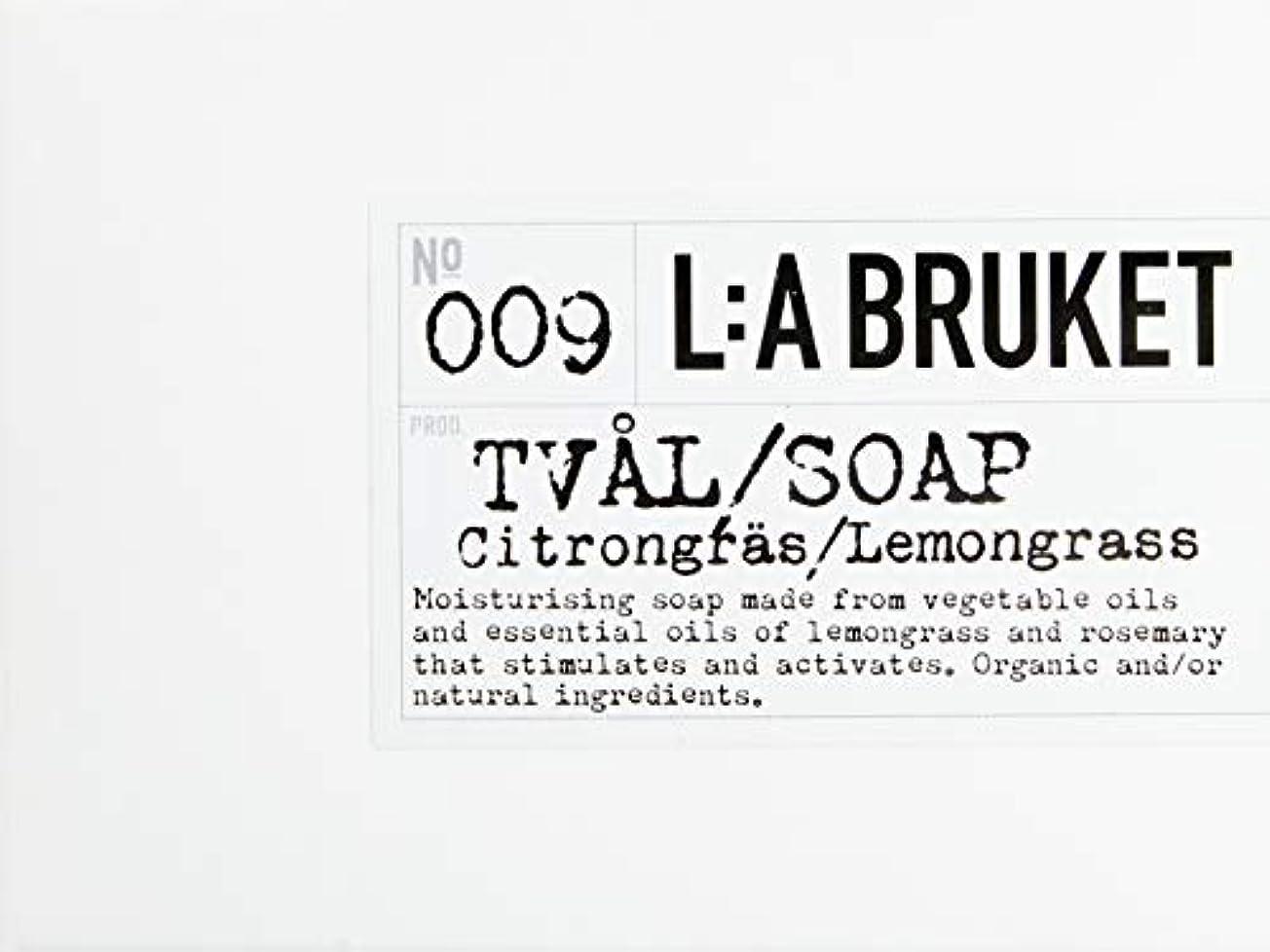 慢性的ママ放棄するL:a Bruket (ラ ブルケット) バーソープ (レモングラス) 120g