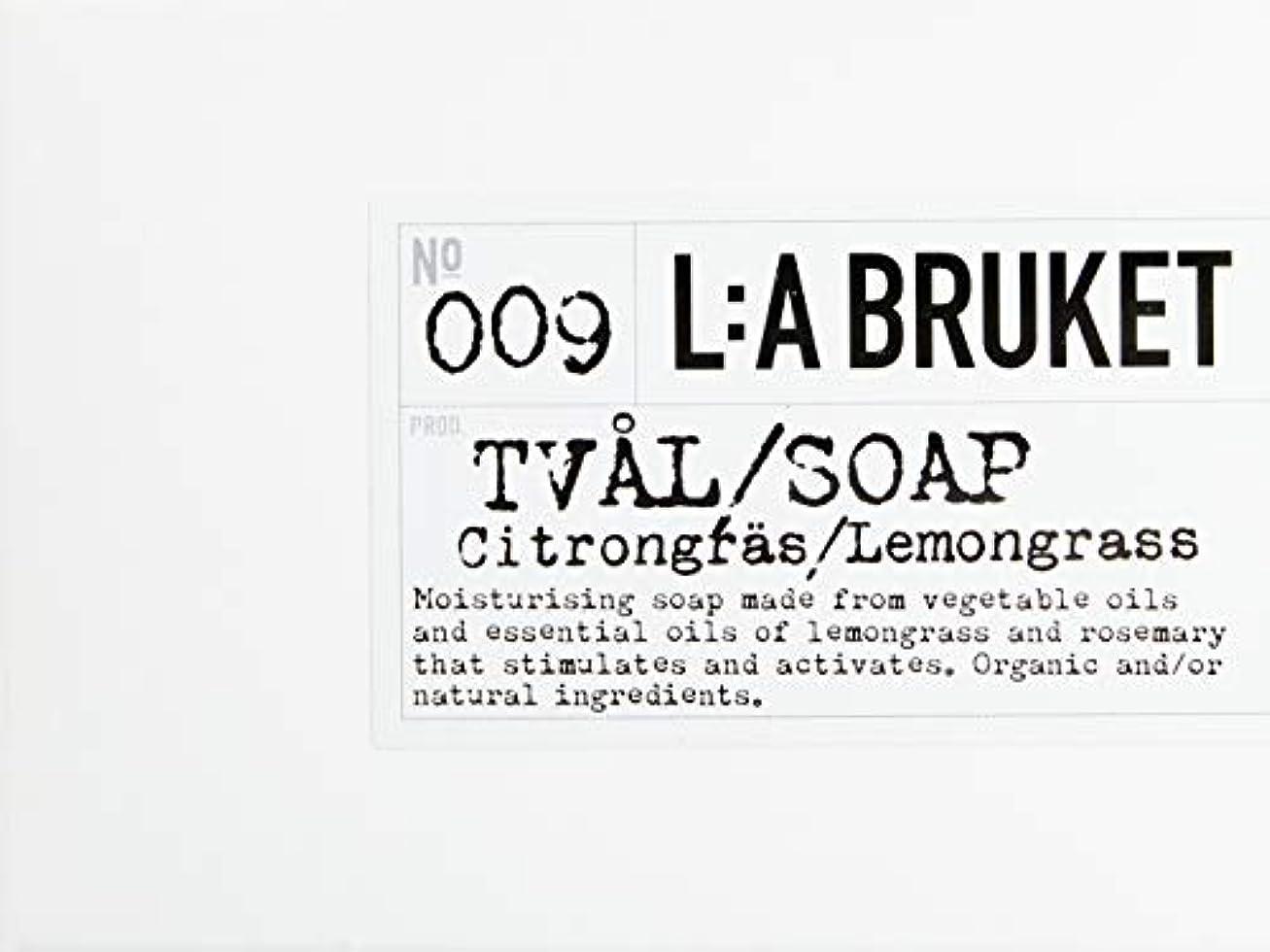 海外知覚的ドラゴンL:a Bruket (ラ ブルケット) バーソープ (レモングラス) 120g