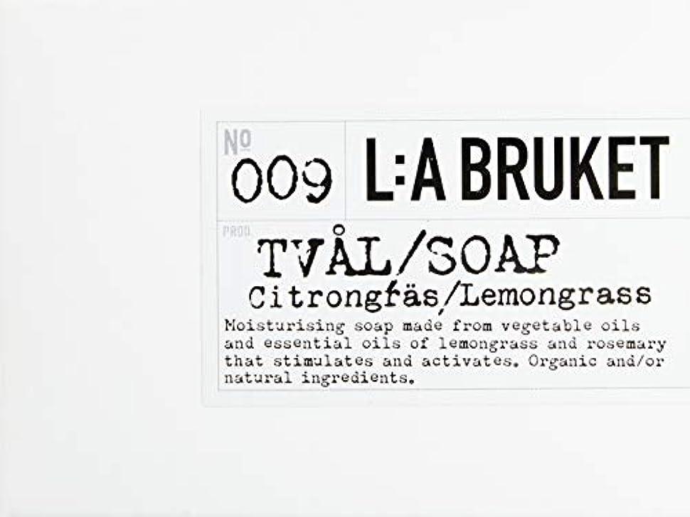 軽量遠征悪党L:a Bruket (ラ ブルケット) バーソープ (レモングラス) 120g