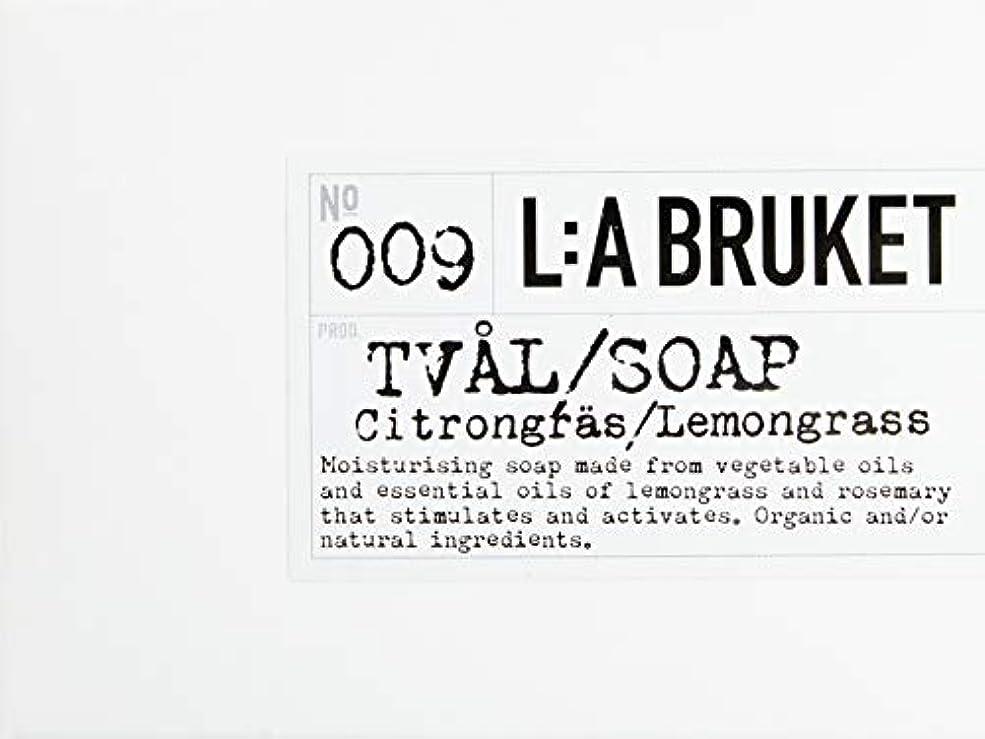 紳士気取りの、きざな論理ピースL:a Bruket (ラ ブルケット) バーソープ (レモングラス) 120g