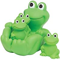 Frog Family Bath Toy - Floating Fun! by D&D [並行輸入品]