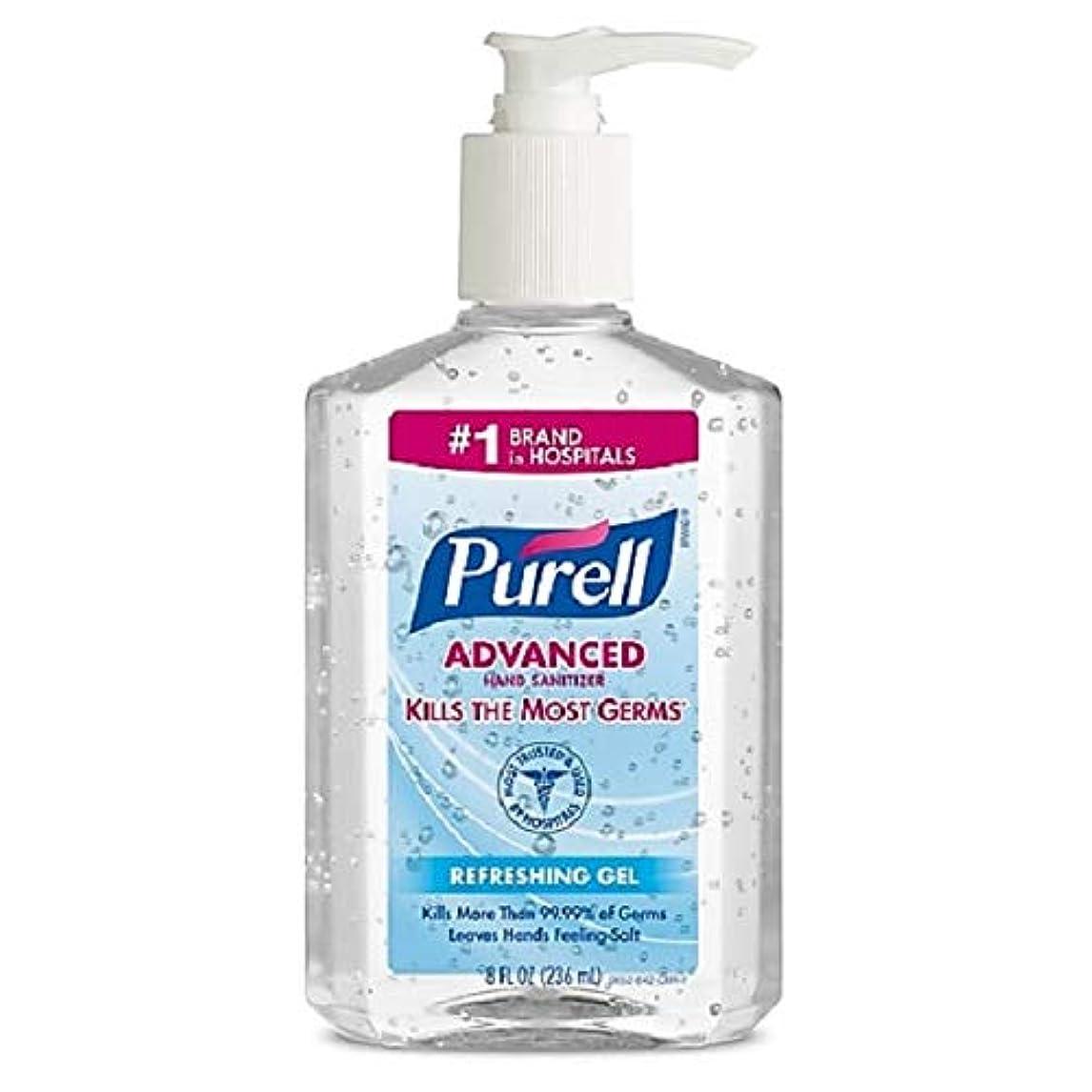 心のこもった売上高安心させるPurell Advanced Hand Sanitizer Refreshing Gel, 8 Ounce by Purell