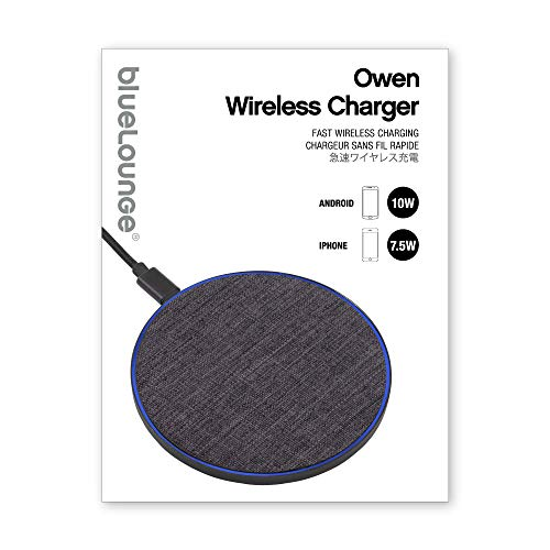 bluelounge Owen Wireless Charger Charcoal BLD-OWH-BK