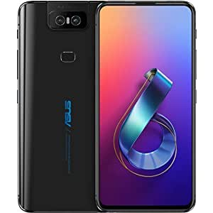 "ASUS ZenFone 6 DEFY ORDINARY 6+128GB 6.4"" inch QC4.0+NFC 4G LTE Smartphone Face ID 5000mAh Android9.1 Global Version (6+128G, Black)"