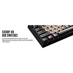 CoolerMaster MasterKeys Pro L赤軸 RGBカラーLED搭載 ゲーミング英語配列メカニカルキーボード(テンキーあり) KB382 SGK-6020-KKCR1-US