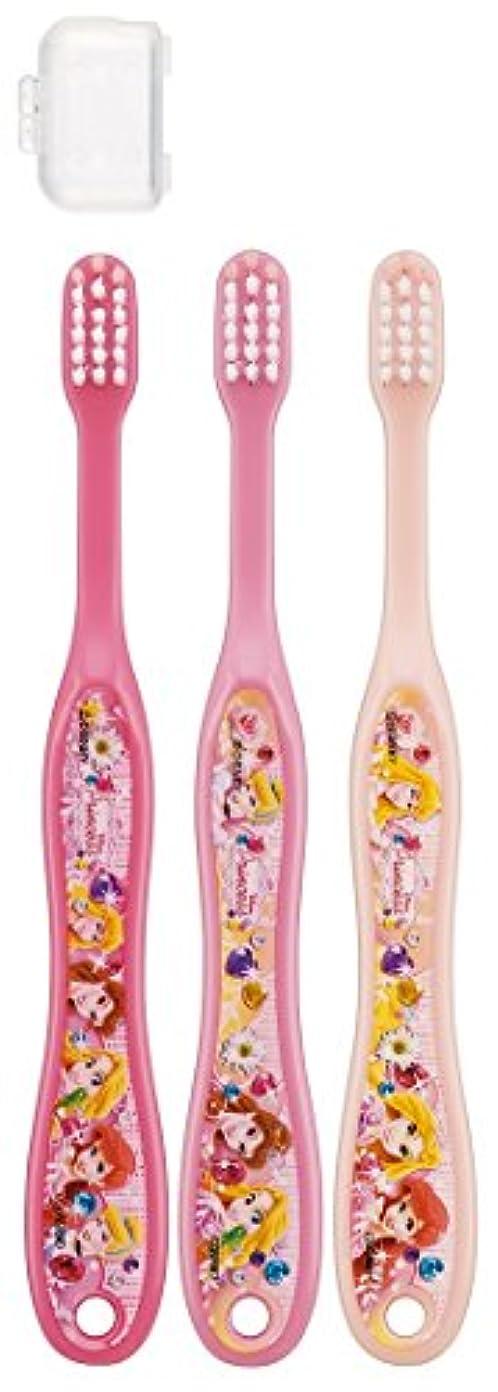 エスカレート合併症ラベルスケーター 歯ブラシ 園児用 3-5才 毛の硬さ普通 3本組 プリンセス 15 TB5T