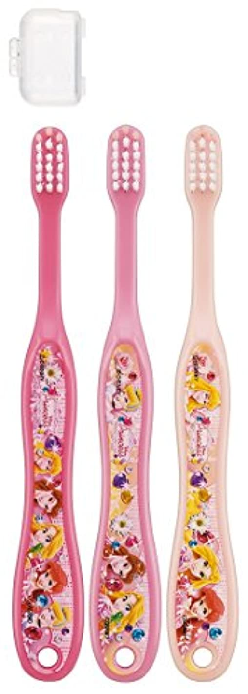 多分祈り虫を数えるスケーター 歯ブラシ 園児用 3-5才 毛の硬さ普通 3本組 プリンセス 15 TB5T