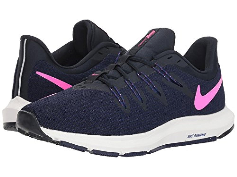 [NIKE(ナイキ)] レディーステニスシューズ?スニーカー?靴 Quest Dark Obsidian/Pink Blast/Deep Royal Blue 11.5 (28.5cm) B - Medium