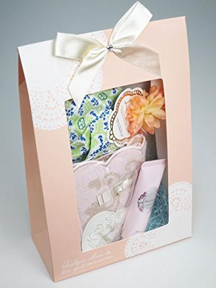 シンポジウムストレスの多い服を片付けるジルスチュアート ギフト ハンドクリーム ピンクチュベローズ ロマンチックタオルチーフポーチ JILLSTUART ジルスチュアートハンドクリーム