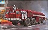 トランペッター 1/35 ソビエト MAZ-7310 空港用化学消防車 プラモデル 01074