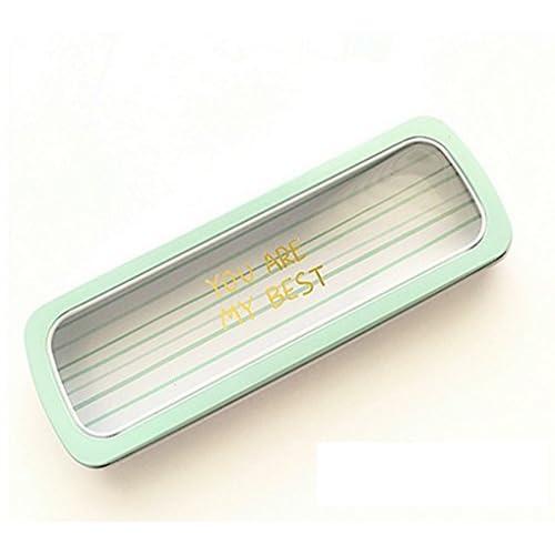 [ MT On&Do ] ペンケース 筆箱 ペン入れ パステルカラー ペールカラー かんぺん 懐かし 筆記用具 収納 かわいい 学生 (ボーダー)